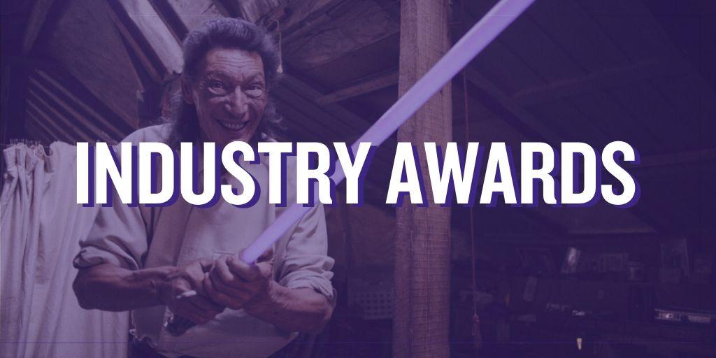 Imágen promocional de los premios de Industry