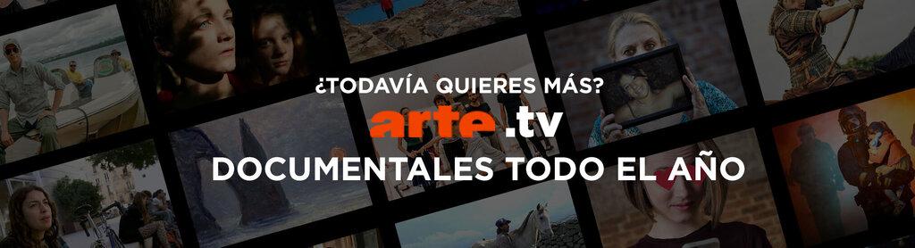 Banner promocional de arte.tv
