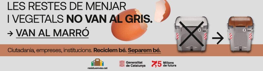 Banner promocional del gobierno de la generalitat de catalunya,.