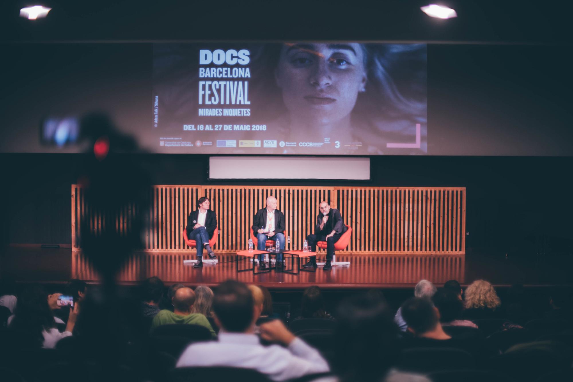 Conferencia en DocsBarcelona