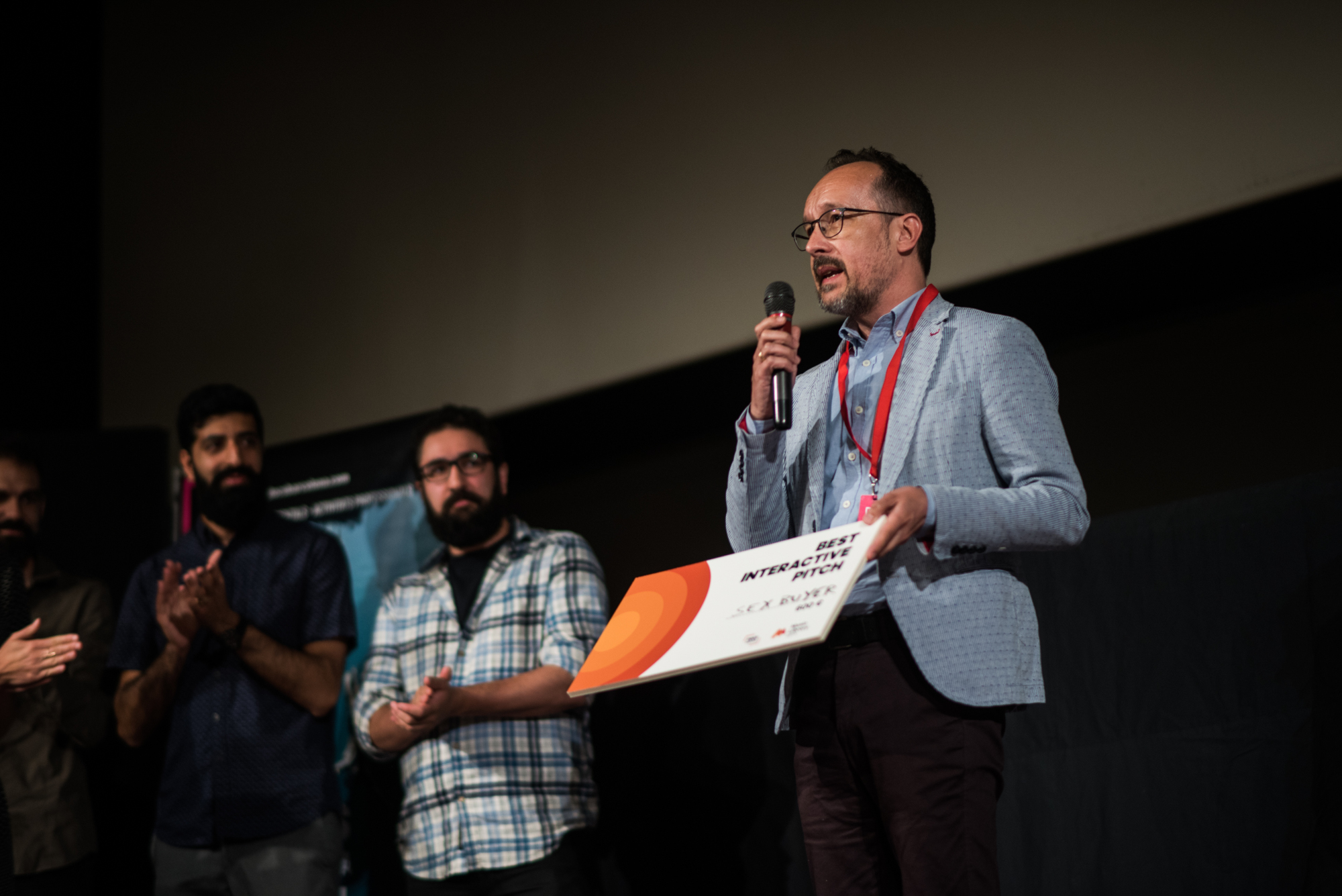 Entrega de premios de DocsBarcelona Industry