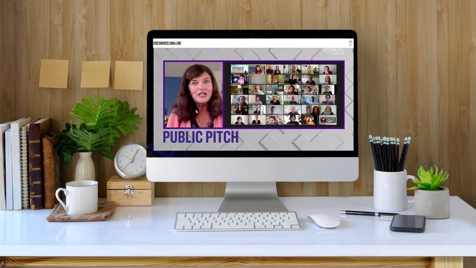 Imágen promocional Public Pitch 2020